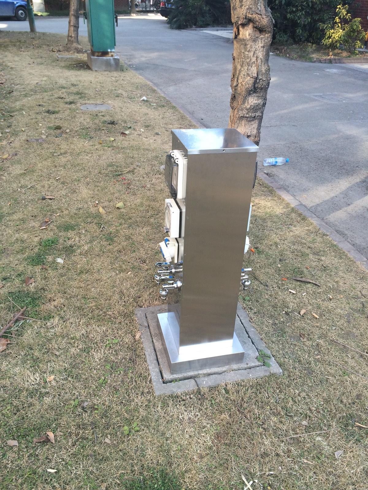指印水电桩zdw-05 水电箱 房车营地充电桩