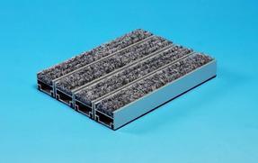 供应高档门厅铝合金地垫,防尘地毯