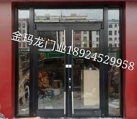 怀化-邵阳玻璃地弹门-连锁店肯德基门