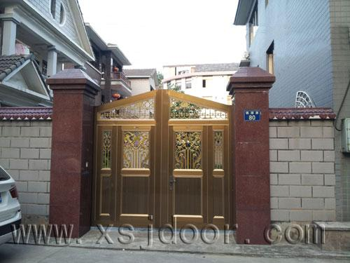 罗普斯金智能庭院门 别墅院墙门 围墙门 遥控门