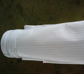 氟美斯高温针刺毡布袋/120mm除尘滤袋