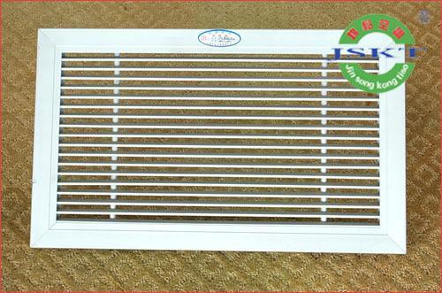 木质空调风口格栅图片