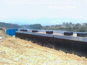 乌海地埋式一体化生活污水处理设施,赤峰一体化污水处理设备