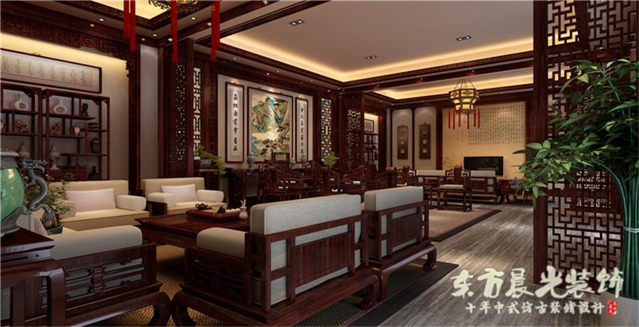 中式室内装修效果图设计