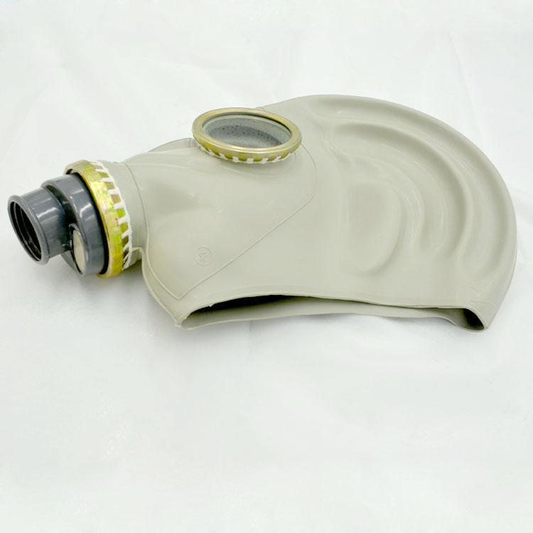 氨用冷库防护用品防毒面具4号滤毒罐防毒面罩 唐人牌氨气防毒面具