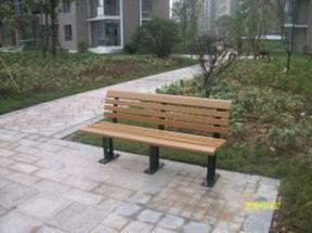 西安园林座椅厂家,塑木园林椅厂家