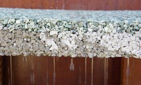 供应酒泉透水地坪 真石丽透水混凝土