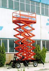 供应贵阳市移动式升降机、移动式载货货梯。