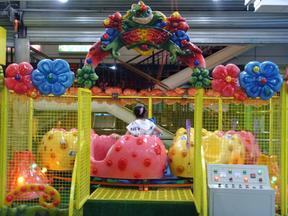 儿童欢乐喷球车游乐设备
