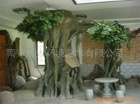 假树/仿真树、水泥假树