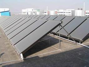 工厂机关用平板太阳能热水器