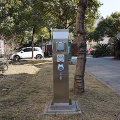 指印智能水电桩ZDW-04 房车营地充电桩 水电箱 水电柜