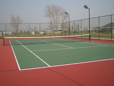 专业羽毛球建设 网球场地 排球场 篮球场.