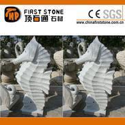 花岗岩海马雕刻流水石GAF320