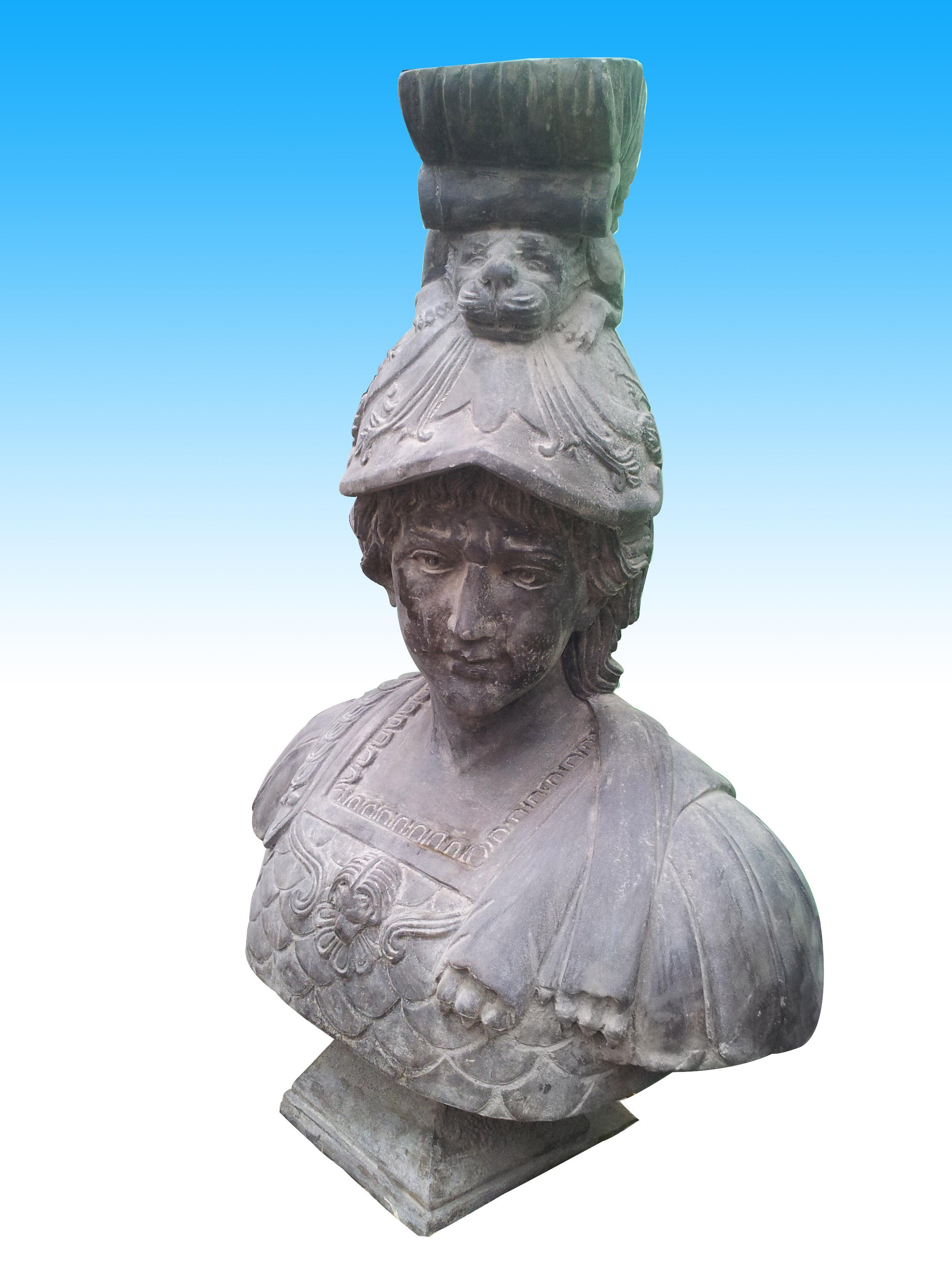欧式古代墙壁雕塑