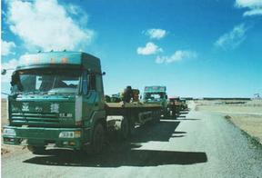重庆拖车11-21米伸缩板凹板低平板等大件运输车辆