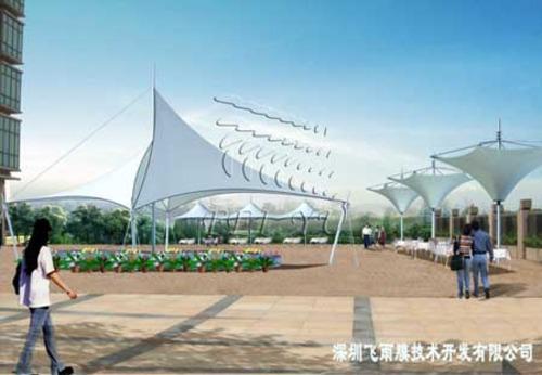 湖北武汉张拉膜结构,天津骨架式膜结构