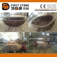 咖啡大理石浴缸MVS037-1