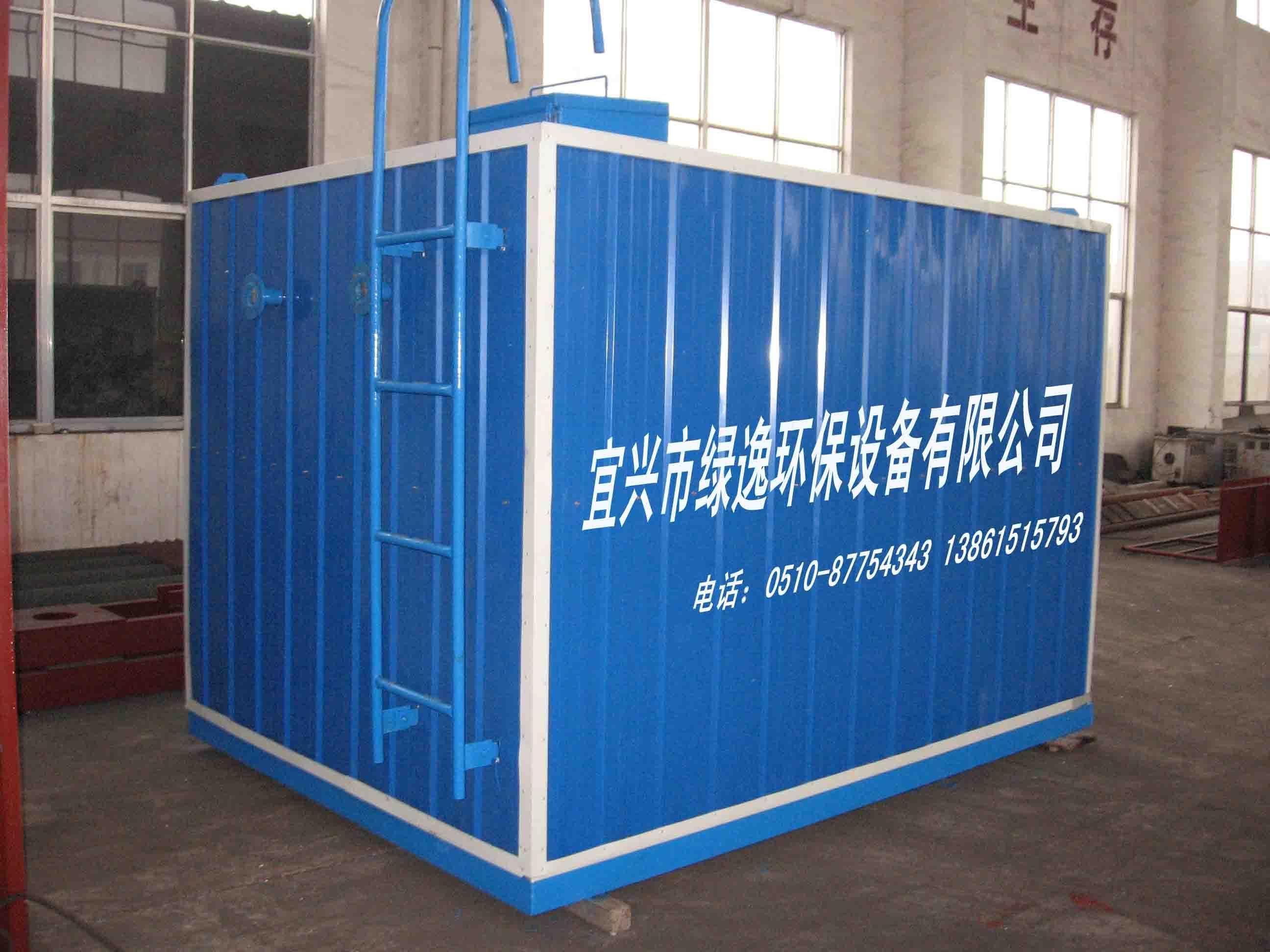 不锈钢拼装式水箱 高清图片