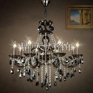 特卖!灯灯饰灯具8头玻璃吊灯,客厅灯,卧室灯,餐吊灯CT-8A11187