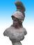 MGP223仿古西式士兵头像雕刻