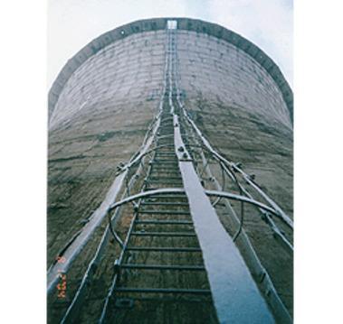 供应冷却塔直爬梯安装