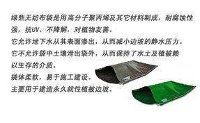 緑鼎生态袋工程系统与传统边坡处理方式对比