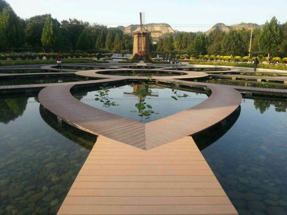 红树林优质木塑地板,木塑栈道,园林园艺设施