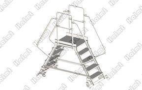 铝合金移动工作梯  厂家直供  量大从优