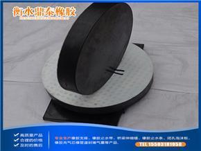 GYZF4板式橡胶支座 四氟板圆形桥梁支座