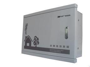 普通金属面板多媒体信息箱