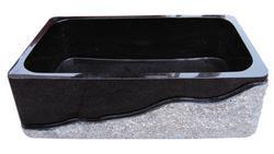 黑色花岗岩洗菜盆KS013
