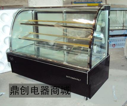 糕点柜普通直图纸冷大理石冷风圆弧展示柜冷炉蛋糕烤烟图片