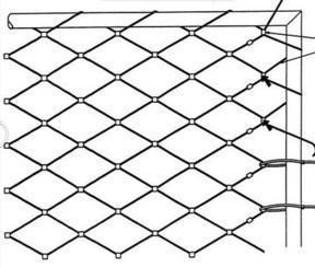 安平雅利嘉供应园林工程装饰304钢丝网片