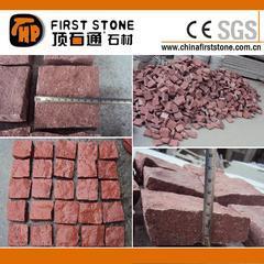 GCCR911寿宁红花岗岩小方块