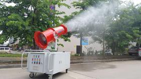 保定城镇绿化杀菌消毒炮雾机采石场搅拌站专用【炮雾机】价格