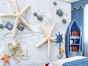 乐图LETU创意个性海底世界地中海风格壁纸