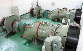 供应贯流式水轮发电机组