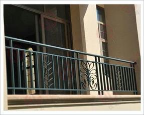 WY-001锌钢阳台栏杆,坚固美观