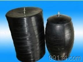 甘肃庆阳供应DN50-2400mm橡胶气囊,橡胶堵水气囊