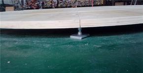 优质车展地台板 木质地台板 旋转木地台