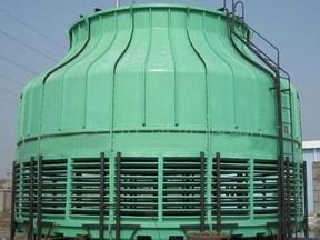 横流式玻璃钢冷却塔