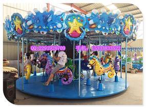 新型游乐设备,豪华转马,儿童玩具,公园游乐场设备
