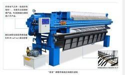 聚丙烯高压隔膜压滤机(带翻板)