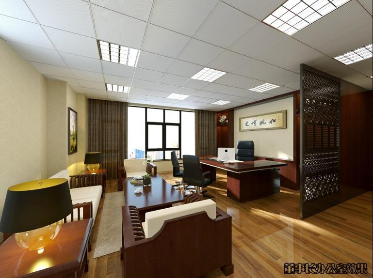 400平方办公室装修设计案例效果图