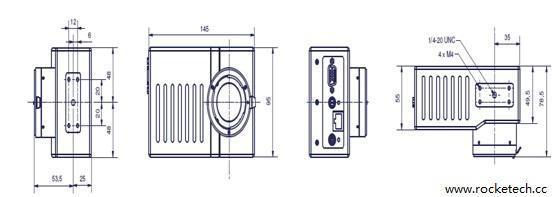 高速一体式工业相机CamRecord5000X2