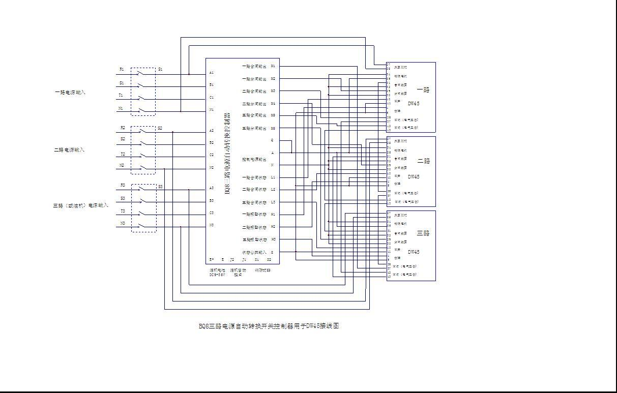 批发BQ8三路电源自动转换控制器