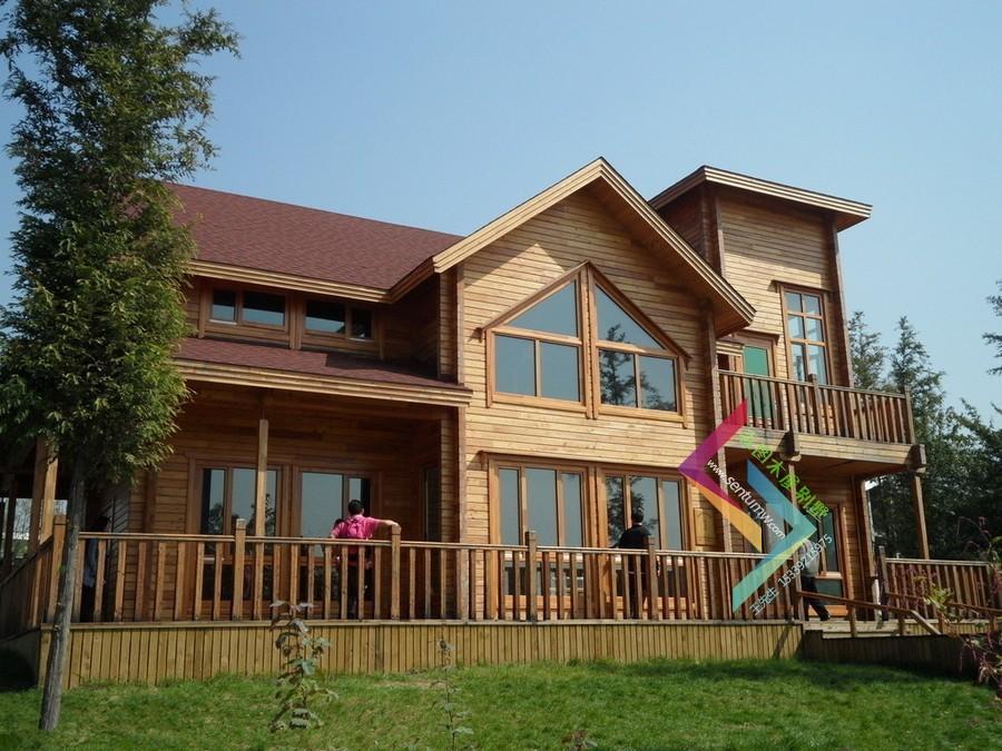 供应精品木屋别墅设计