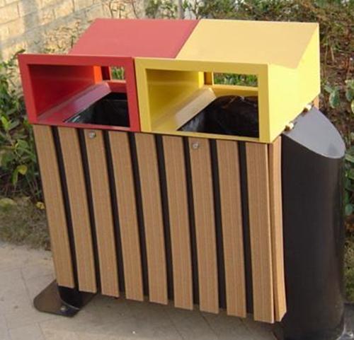 美亚特生态木木塑垃圾桶质量好