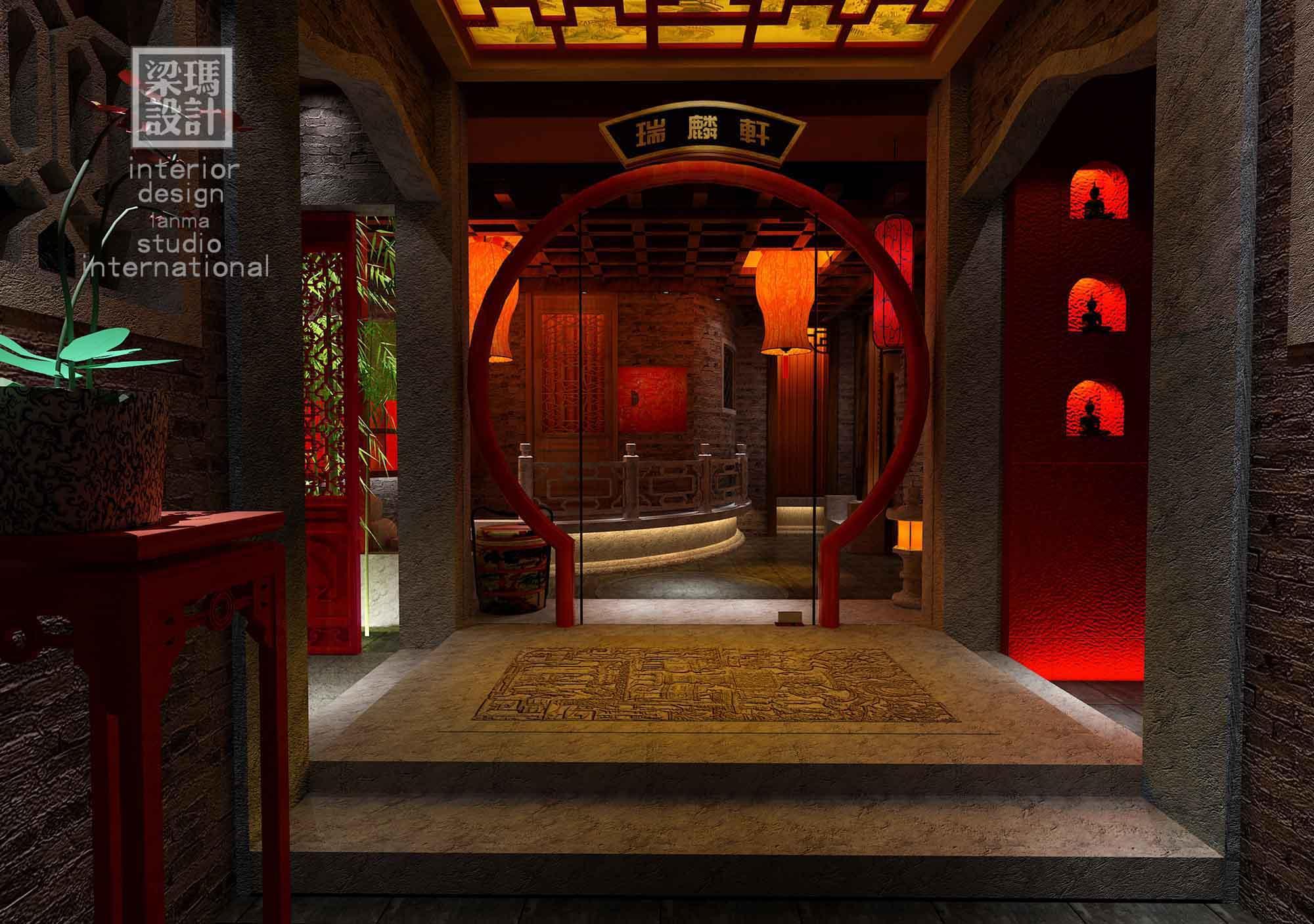 梁玛设计-中式设计作品欣赏-张博士茗茶馆联洋店
